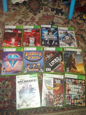 Xbox 360 games for Sale in Irving, TX