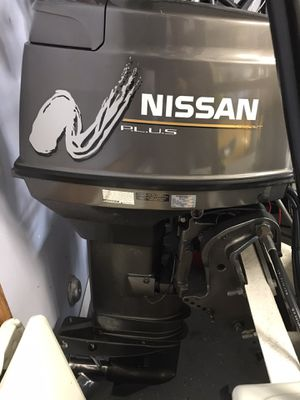 2001 Nissan 40 HP 2 stroke- engine seized for Sale in FL, US