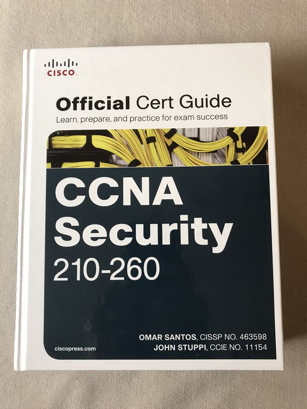 Cisco CCNA Security 210-260