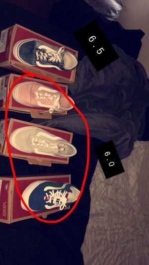 Vans shoes READ THE DESCRIPTION for Sale in Rochester, NY