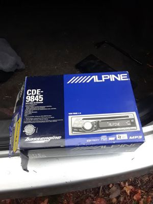 Alpine CD/radio player for Sale in Silver Spring, MD