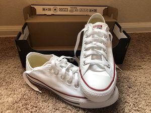 White Converse (Women's Size 8) for Sale in Saratoga, CA