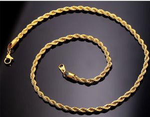 """New Gold Plated Rope 20"""" Chain for Sale in Parkville, MD"""