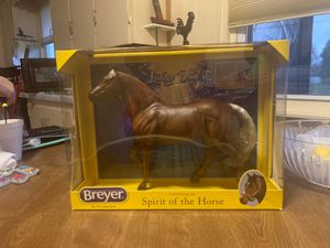 "Breyer horse 'Spirit of the Horse'- ""Latigo Dun It"" No.1791 NEW IN BOX for Sale in Winston-Salem, NC"