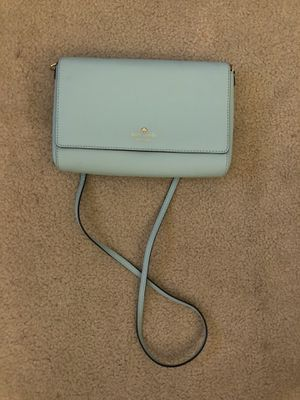 Kate Space mint green crossbody bag like new for Sale in MONTE VISTA, CA