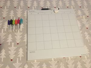 Dry-Erase Calendar plus Markers for Sale in Chicago, IL