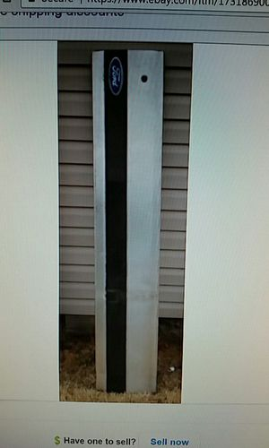 1987 1996 Ford Bronco XLT tailgate panel trim molding OEM for Sale in St Louis, MO