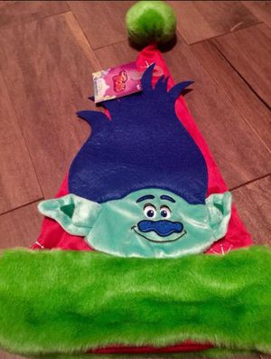 New Trolls red CHRISTMAS Santa Hat for ages 3+ for Sale in St. Petersburg, FL