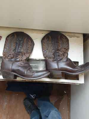 Mens cowboy work boots...size 11.5 for Sale in Atlanta, GA