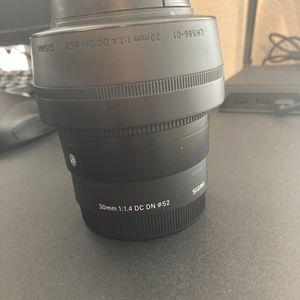 Sigma 30mm F1.4 Sony E-mount APS-C for Sale in Orlando, FL