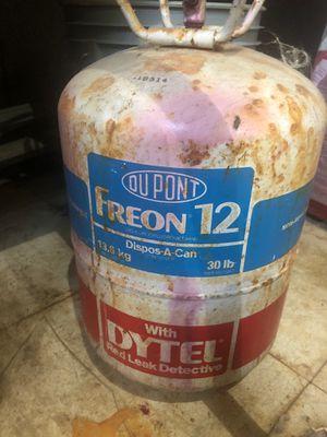 R12 freon 30lb jug 95% full for Sale for sale  Croydon, PA