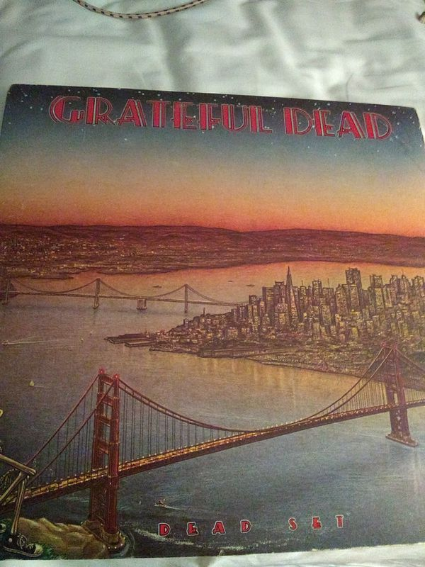 Greatful dead last dead set vinyl 2 records excellent condition
