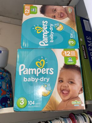 Kids diapers, baby clothes, and baby chairs for Sale in Lanham, MD