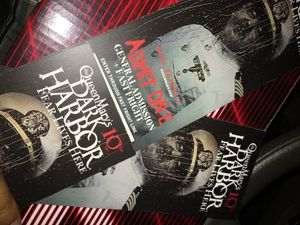 DARK HARBOR HARD TICKETS - meet in person for Sale in Anaheim, CA