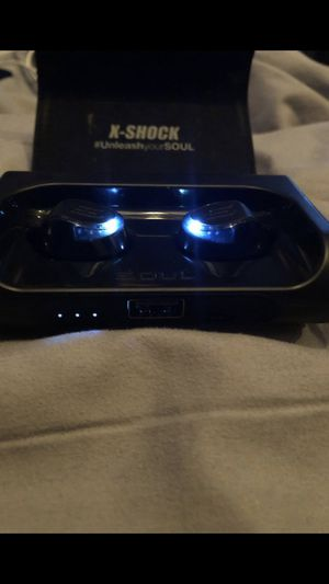 *READ DESCRIPTION*. X Shock Bluetooth Wireless Earbuds for Sale in Collingswood, NJ
