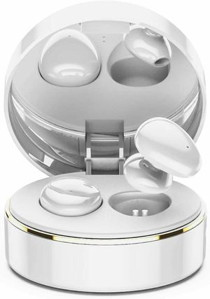 True Wireless Earbuds Bluetooth 5.0 Headset Mic with Makeup Mirror for Sale in Los Angeles, CA