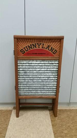 Antique Sunnyland washboard cabinet for Sale in Fort Lauderdale, FL