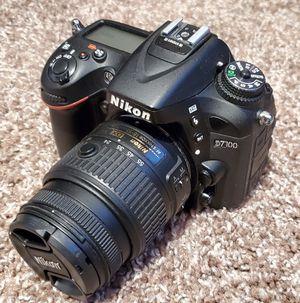 Nikon D7100 DSLR with 18-55mm Nikor Lens for Sale in Kent, WA