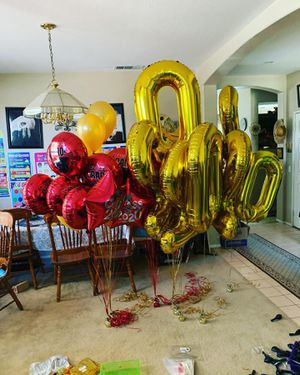Balloon arches, helium balloons, balloon columns for Sale in Murrieta, CA