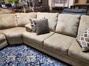 Stylish Sectional Sofa, Beige for Sale in Santa Ana, CA