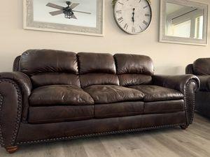 Leather sofa set 4 piece for Sale in Glendale, AZ