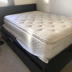 FULL SET: BED FRAME AND MATTRESS FOR SALE for Sale in National City, CA