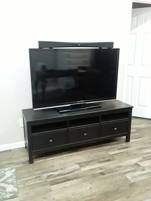 TV stand only hemnes from IKEA $75 for Sale in Spring Valley, CA