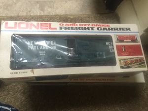 Lionel 0 and 027 gauge freight carrier for Sale, used for sale  Levittown, PA