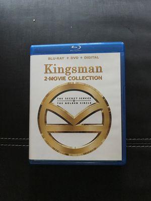 Kingsman 1&2 Blu-ray + DVD for Sale in Los Angeles, CA