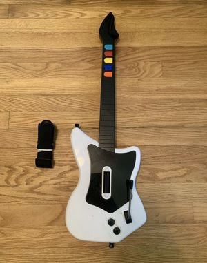PS2 Guitar Hero Wireless Guitar Controller & Strap *NO DONGLE TESTED Playstation for Sale in Pelham, NH