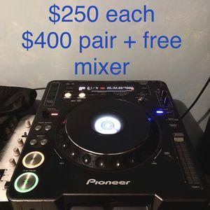 CDJ 1000 mk3 : Professional DJ Set-up for Sale in Fort Lauderdale, FL