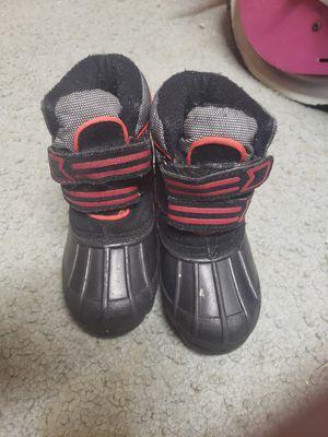 Toddler boys warm winter snow boots. Heavy duty size 7 for Sale in Oak Lawn, IL