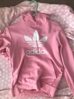Size small pink adidas women girls hoodie for Sale in South San Francisco, CA