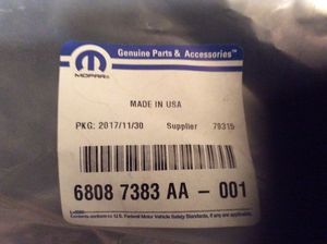New Jeep Oem #6808 7383 AA-001 top storage bag for Sale in Converse, TX