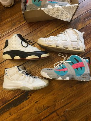Jordan's, Pippens, and Reebok for Sale in Tampa, FL