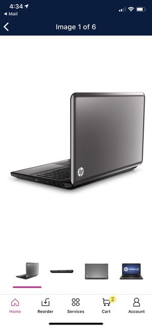 """HP Charcoal Gray 17.3"""" Laptop PC with AMD Quad-Core A6 Accelerated Processor and Windows 500GB for Sale in San Diego, CA"""