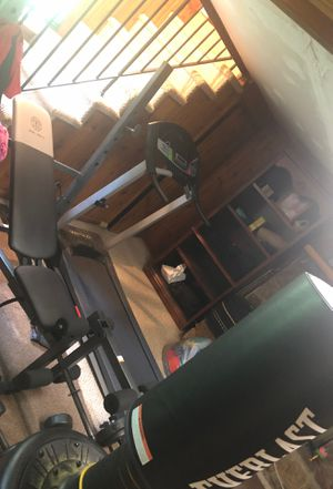 Workout machines and boxing bag for Sale in Nashville, TN