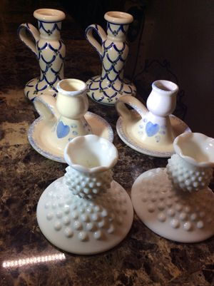 Three pairs of candelabra collection for Sale in Bound Brook, NJ