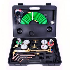 Gas Welding Cutting Kit Oxy Acetyle Oxygen Torch Brazing Fits VICTOR W/Hose New In Box for Sale in Monroe, LA