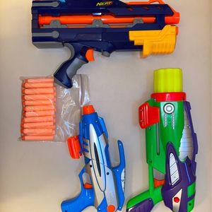 NERF Guns (20 Nerf Bullets) for Sale in Elk Grove, CA