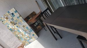 Moving Sale, console table, mirror and dinning table for Sale in Brandon, FL