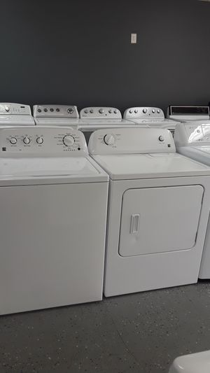 KENMORE WASHER & DRYER SET DEEP WATER WASH TRIPLE ACTION AGITATOR for Sale in Lawrenceville, GA