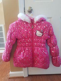 Hello Kitty Winter Coat, Girls Size 12 for Sale in Virginia Beach,  VA