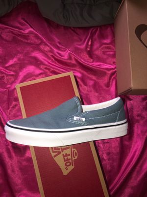 Slip on Vans- size 6.5 in women for Sale in Durham, NC