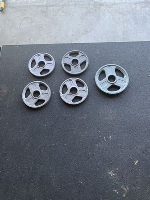 30lbs OLYMPIC plates 50$ for Sale in Fowler, CA