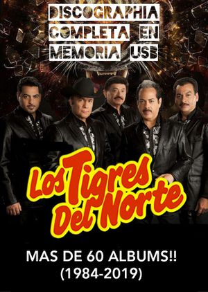Los Tigres Del Norte DISCOGRAFIA COMPLETA + VIDEOS for Sale in Houston, TX