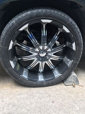 Rims 24's Verde for Sale in Fort Worth, TX