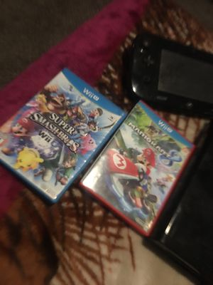 Nintendo Wii U plus 2 games 200$or trades perfect condition for Sale in Indianapolis, IN