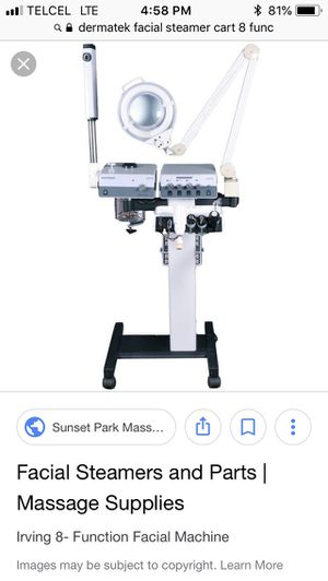 Dermatek facial steamer kart for Sale in US