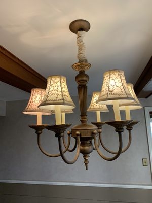 Modern chic chandelier for Sale in Somerset, MA
